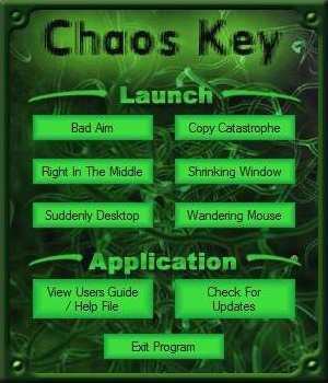 Chaos Key User Interface